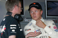 Raikkonen tries out Mercedes DTM