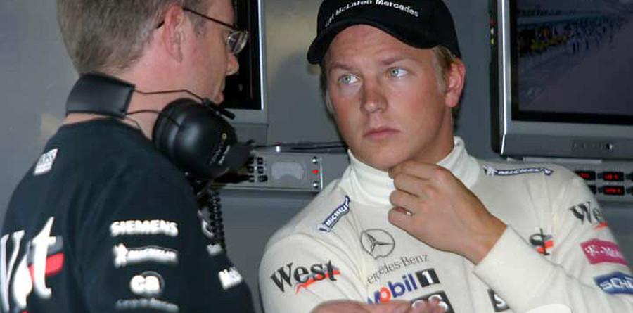 Raikkonen tries out Mercedes DTM