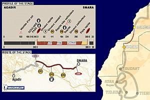 Dakar: Stage 5 Agadir to Smara notes