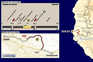 Dakar: Stage 15 Tambacounda to Dakar notes