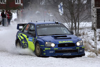 Solberg takes edge in Sweden