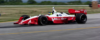 IndyCar CHAMPCAR/CART: da Matta edges Tracy on Friday at Cleveland