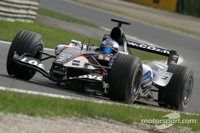 Easy first day for Doornbos at Monza