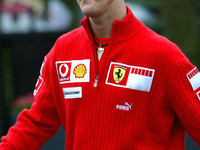 Schumacher calm and determined