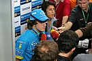 Alonso focused on the job