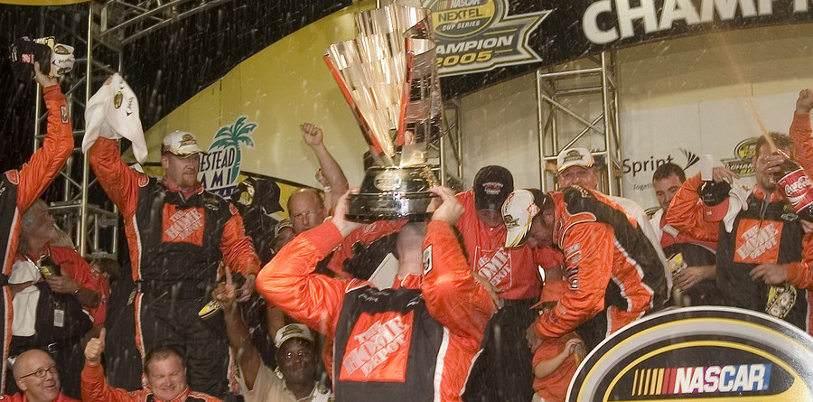 Stewart earns his second championship