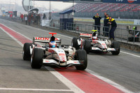 Honda drivers ready to work together
