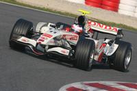 Honda fastest as testing resumes
