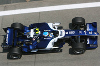 Wurz sets the pace in British GP first practice