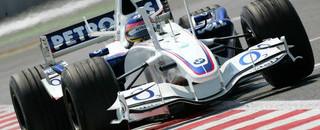 BMW Sauber flies in French GP last practice