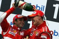 German result a Ferrari morale booster