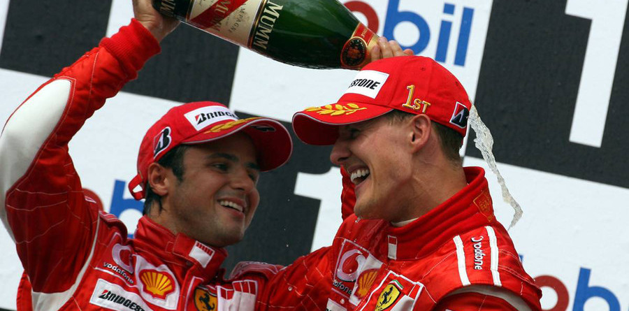 German result a Ferrari morale booster