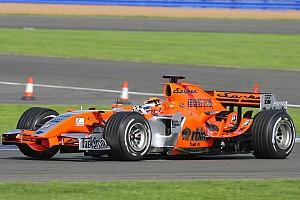 Formula 1 Spyker MF1 reveals new livery