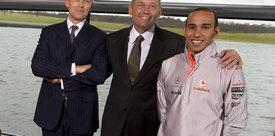 McLaren ties Hamilton to team through 2012