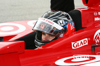 Wheldon, Patrick pace field at Homestead testing