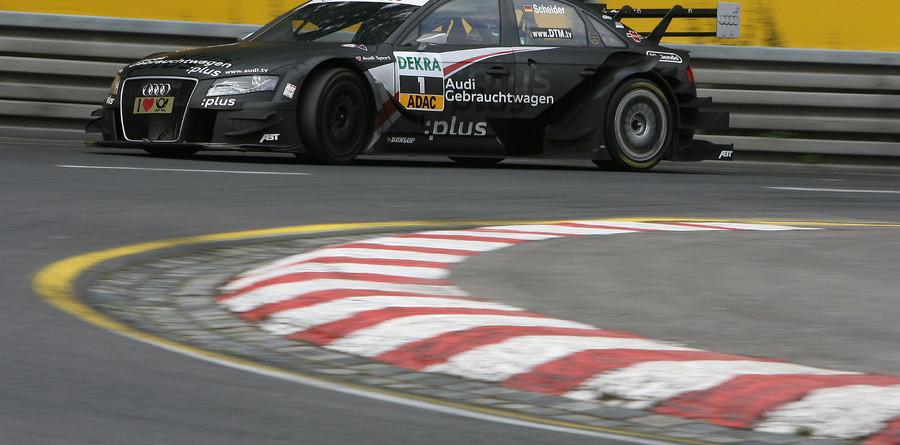 Scheider gives Audi first Norisring pole
