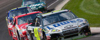 NASCAR Sprint Cup Johnson conquers Indy's Brickyard - again