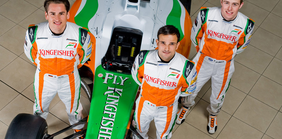 Force India unveils 2010 challenger in Jerez