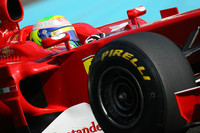 Massa fastest in Pirelli initial testing