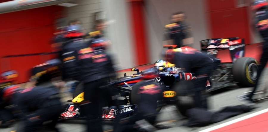 Red Bull fastest again on second day at Barcelona