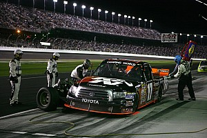 NASCAR Truck Timothy Peters race report