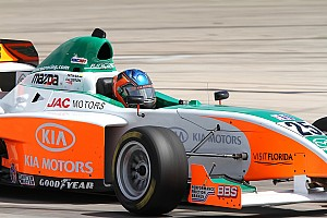 Indy Lights Juncos Racing Birmingham test notes 2011-03-16