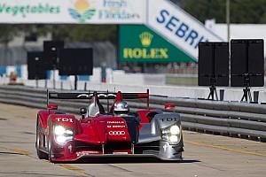 ALMS Audi qualifying report