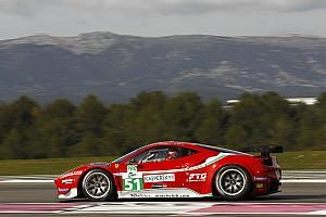 European Le Mans Ferrari teams qualifying report