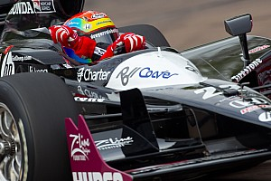 Justin Wilson qualifying report