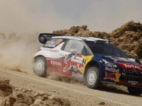 Ogier holds the early lead in Rally Jordan