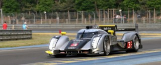Audi's Kristensen set fastest time in Le Mans test day