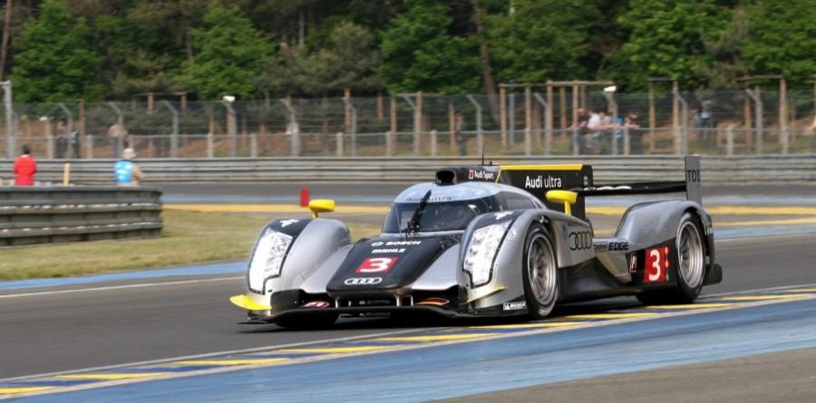 Audi's Kristensen set fastest time in Le Mans test day