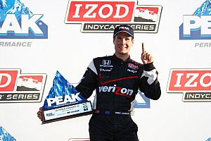 IndyCar Series qualifying report