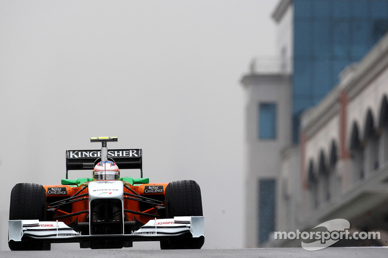 Turkish GP Force India Friday Practice Report