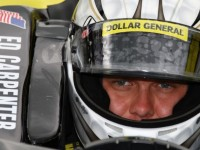 Carpenter fastest on rainy Opening Day at Indy 500