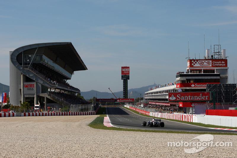 Williams Spanish GP Qualifying Report