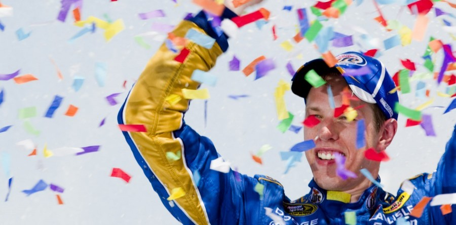 Keselowski Conserves Fuel To Win At Kansas Speedway