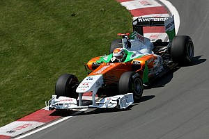 Force India Canadian GP Qualifying Report