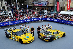 Le Mans Corvette Racing Ready For Le Mans 24H