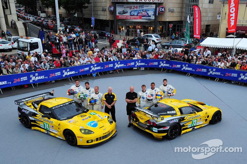 Corvette Racing Ready For Le Mans 24H