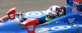Dario Franchitti Snares Milwaukee Pole