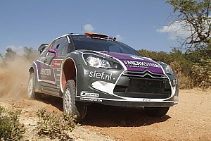 WRC Van Merksteijn Motorsport Retires From Acropolis Rally