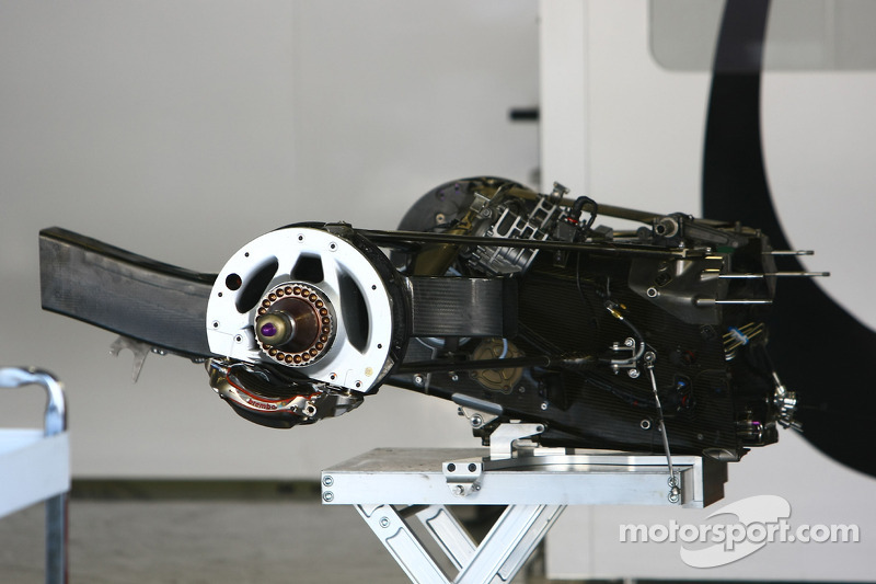 Mercedes European GP Feature: Gearboxes