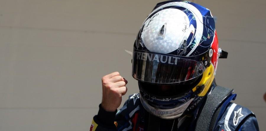 Red Bull's Vettel Sails To F1 European GP Victory In Valencia