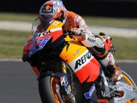 Stoner Sets Record Pace in Mugello For MotoGP Italian GP