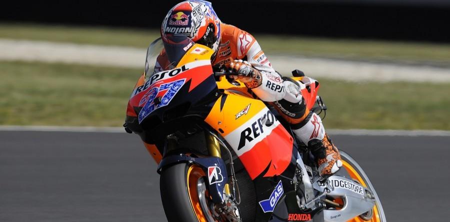 Stoner Sets Record Pace in Mugello For MotoGP Italian GP