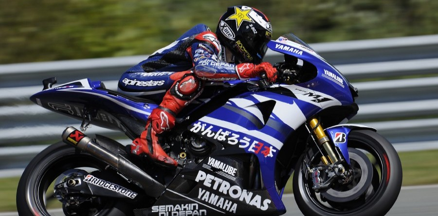 Yamaha's MotoGP Friday German GP Report