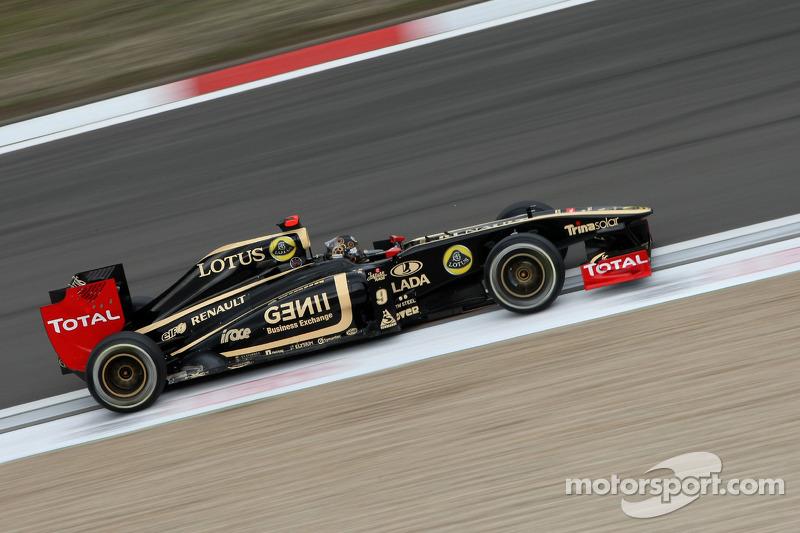 Lotus Renault German GP - Nurburgring Friday Practice Report