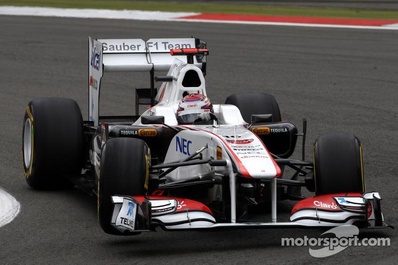 Sauber German GP - Nurburgring Race Report