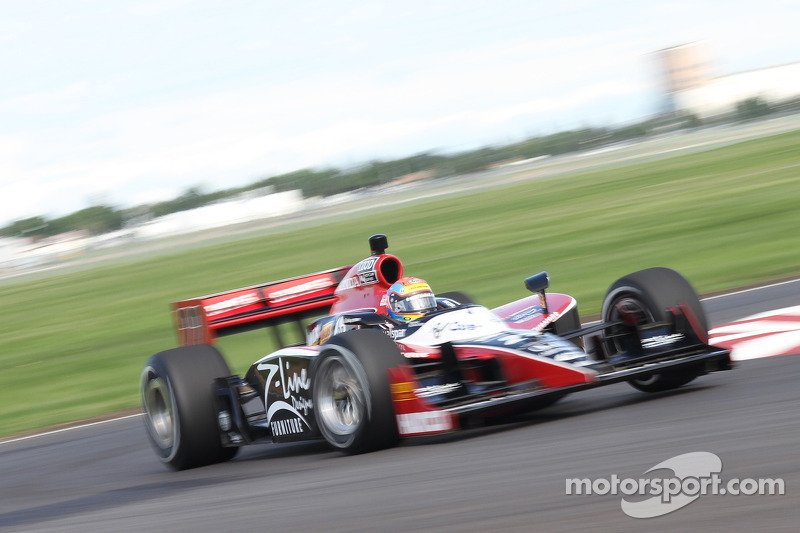 Justin Wilson Edmonton Race Report